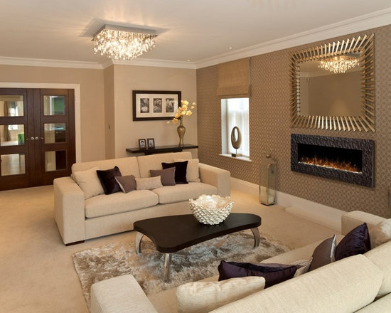 Dimplex Wakefield surface-mounted fireplace - Jeanne Grier/Stylish Fireplaces & Interiors