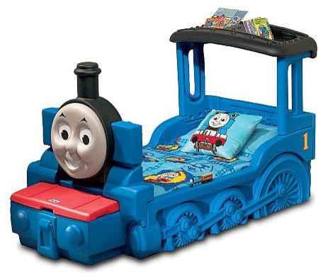 Little Tikes Thomas & Friends Train Toddler Bed - Contemporary - Toddler Beds - by Toys R Us