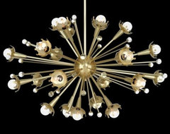 Sputnik Chandelier by Jonathan Adler Lighting contemporary-chandeliers