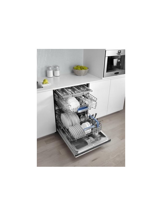 Bosch - Bosch 800 Series Dishwasher - When it comes to specifying dishwashers, I look for quiet, energy-efficient, water-saving and feature-rich models.  One of my favorite features in European models like this one is leak protection -- especially ideal for kitchens with wood or laminate floors.
