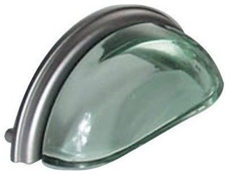 Lew's Hardware Glass Bin Pull - Contemporary - Cabinet And Drawer Handle Pulls - by ...