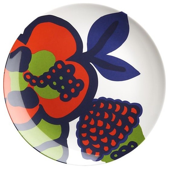 eclectic dinnerware by Crate&Barrel