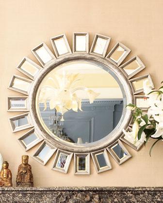Cyrus Sunburst Mirror traditional-mirrors