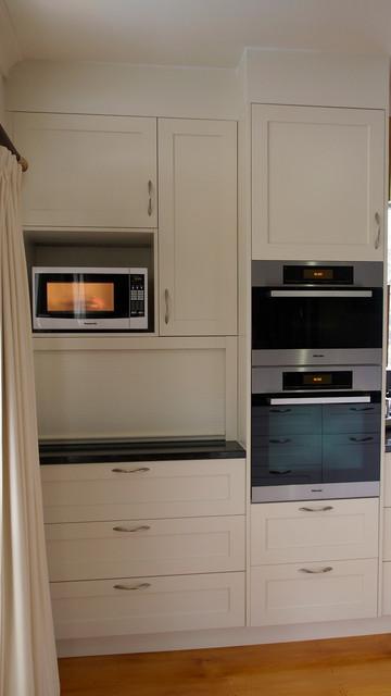 Classic Shaker Style Kitchen - Granite Benchtops traditional-kitchen