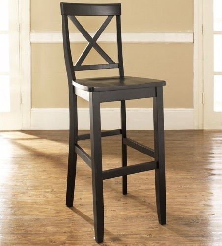 x back 30 in bar stool set of 2 cry125 contemporary