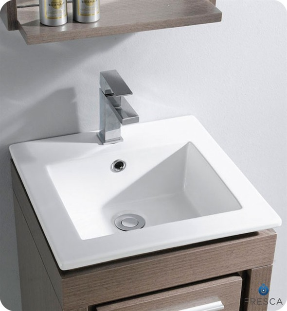 Small Garage Sink : Small Bathroom Vanities - Traditional - los angeles - by Vanities for ...