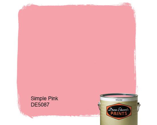 Dunn-Edwards Paints Simple Pink DE5087 -