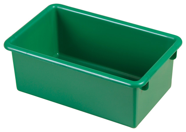ECR4Kids Heavy-Duty Plastic Stack and Store Tub with No Lid 1 Pack ...