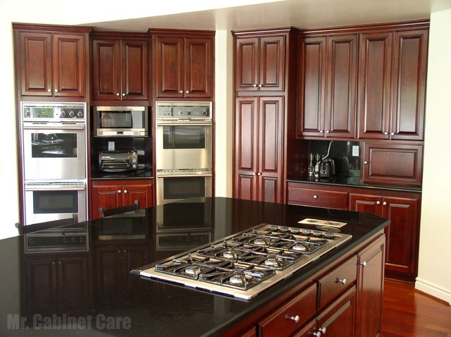 Cabinet Refacing - Orange County traditional-kitchen