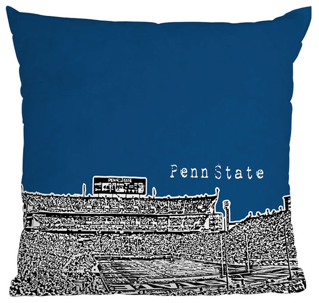 Deny designs bird ave penn state university navy throw for Penn state decorations home
