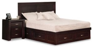 Contempo storage bed modern-beds