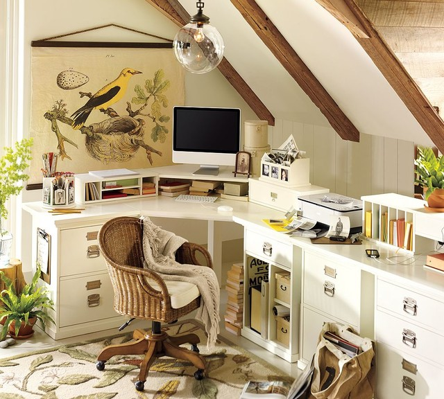 Home Office- Pottery Barn traditional
