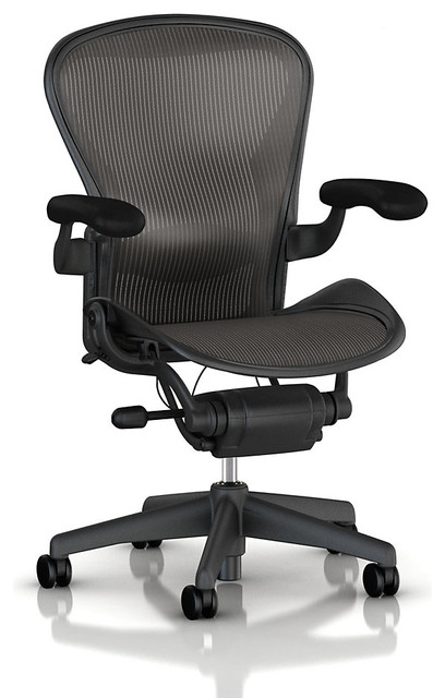 Aeron Chair with adjustable lumbar support | Smart Furniture modern-task-chairs