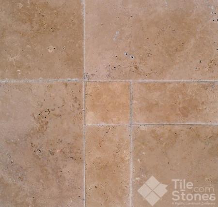 Slippery tile floor
