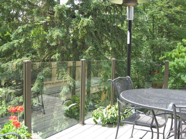 Century Aluminum Deck Railing modern-outdoor-products