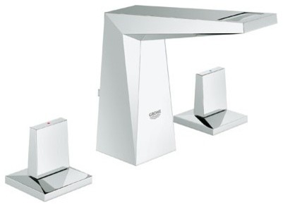 Grohe 20343000 Allure Brilliant Lavatory Faucet Wideset In Chrome bathroom-faucets-and-showerheads