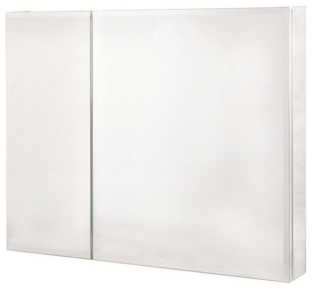 ... Bi-View Beveled Mirror Medicine Cabinet traditional-medicine-cabinets
