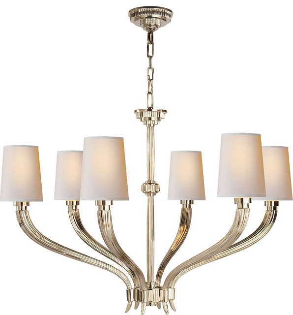 Ruhlmann large chandelier transitional chandeliers by circa lighting - Circa lighting chandeliers ...