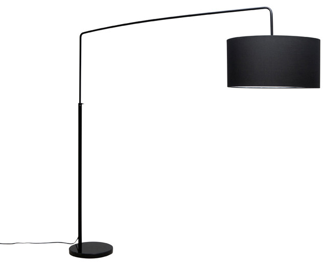 Raku Floor Lamp Black Modern Floor Lamps By Inmod