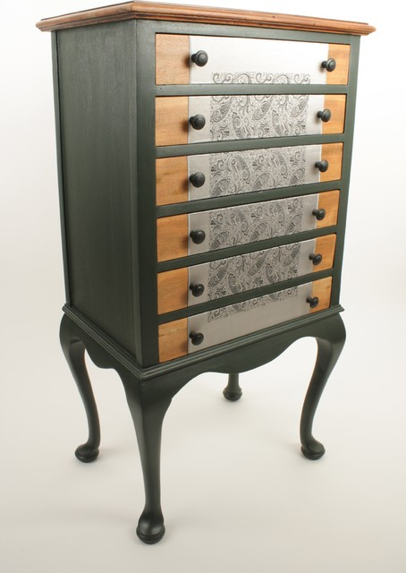 Upcycled Edwardian music cabinet - Eclectic - Furniture - london - by ...