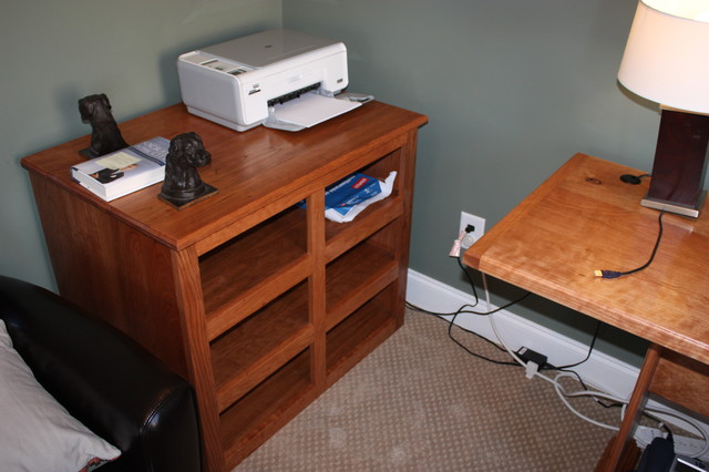 Storage Cabinet- Cherry - Filing Cabinets - atlanta - by What Wood You Like