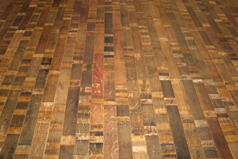 Stave Collection eclectic wood flooring