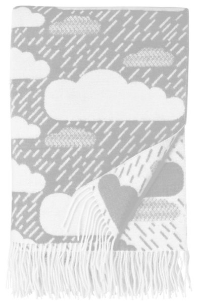 Rainy Day Large Throw contemporary-throws