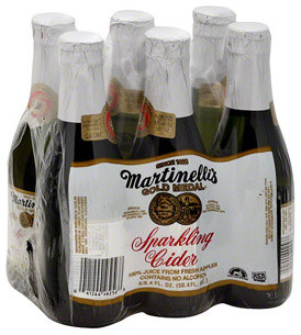 Martinelli's Gold Medal Sparkling Cider - Traditional - by Walmart
