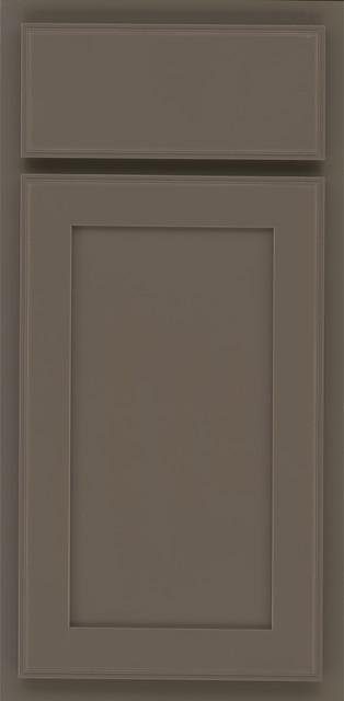 Kraftmaid Maple Door In Greyloft Kitchen Cabinetry