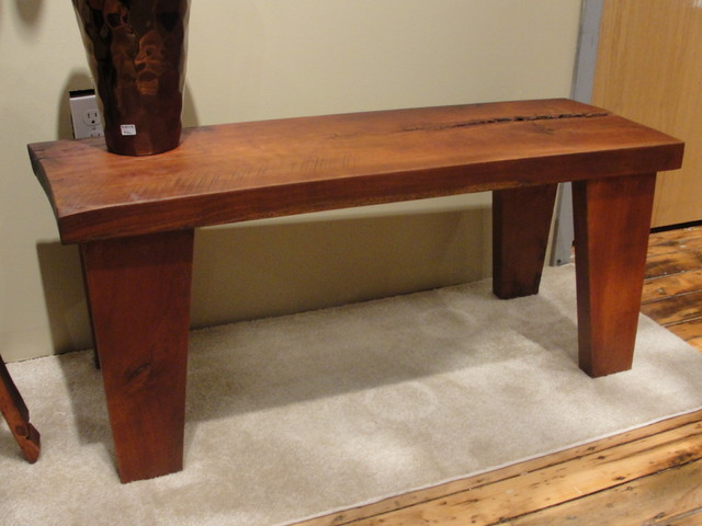 accent furniture eclectic-benches