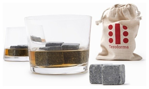 Whisky Stones Beverage Cubes (Set of 9) contemporary-wine-and-bar-tools