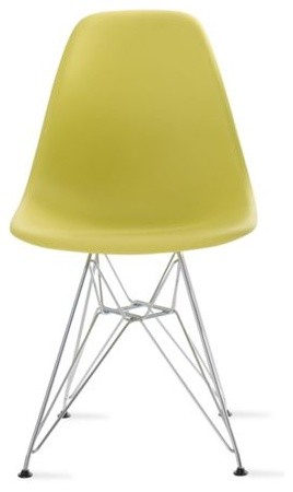 Eames Molded Plastic Side Chair Midcentury Dining