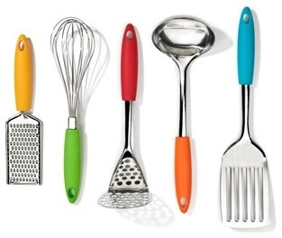 Five Piece Gadget Set Modern Cooking Utensils By The Conran Shop