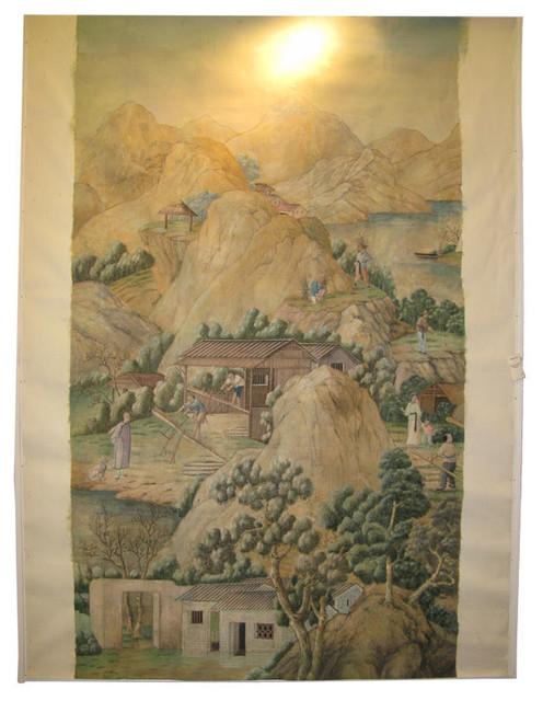 18th Century Chinese Wallpaper asian-wallpaper