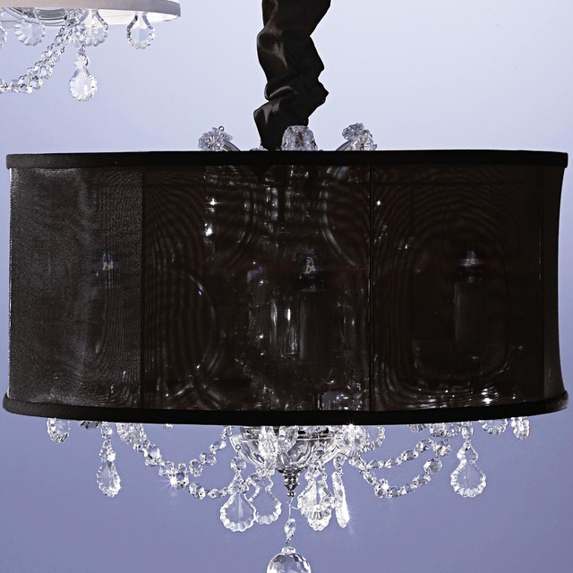 20&#34 Sheer Organza Shade for Chandelier lamp-shades