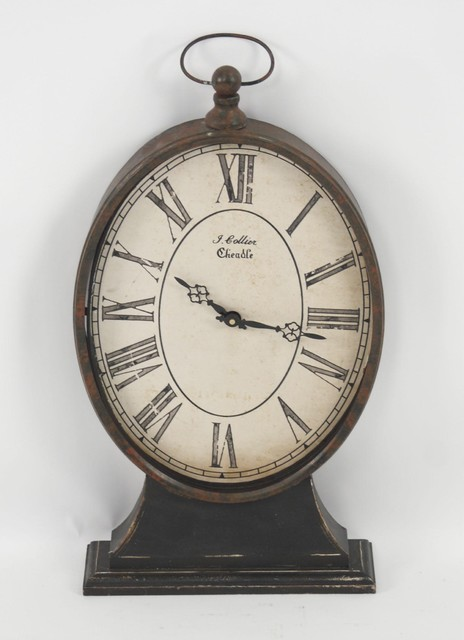 Zentique French Table Clock traditional-clocks