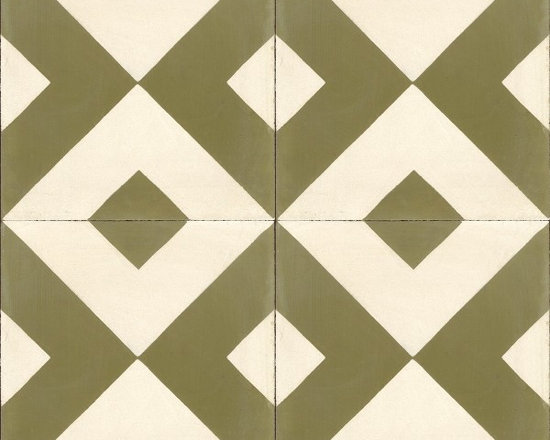 Cement Tile Shop Collection - Checkered Cement Tile from Cement Tile Shop