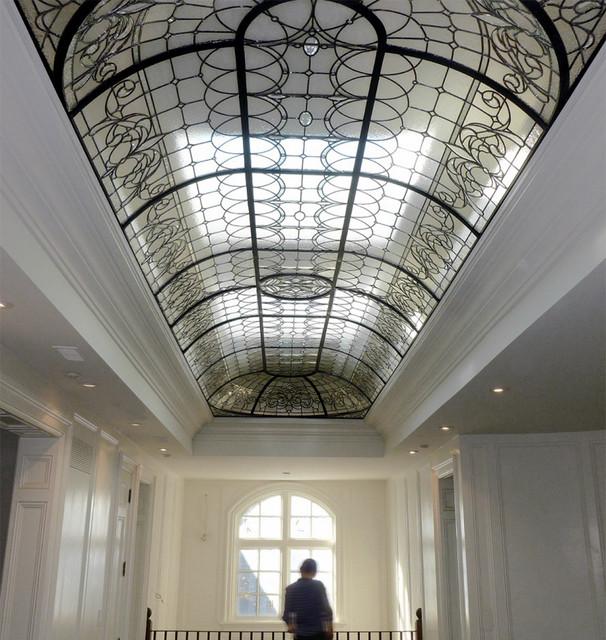 Leaded Glass Barrel Vault Dome - Traditional - Skylights - toronto - by Solarium Design Group Ltd.