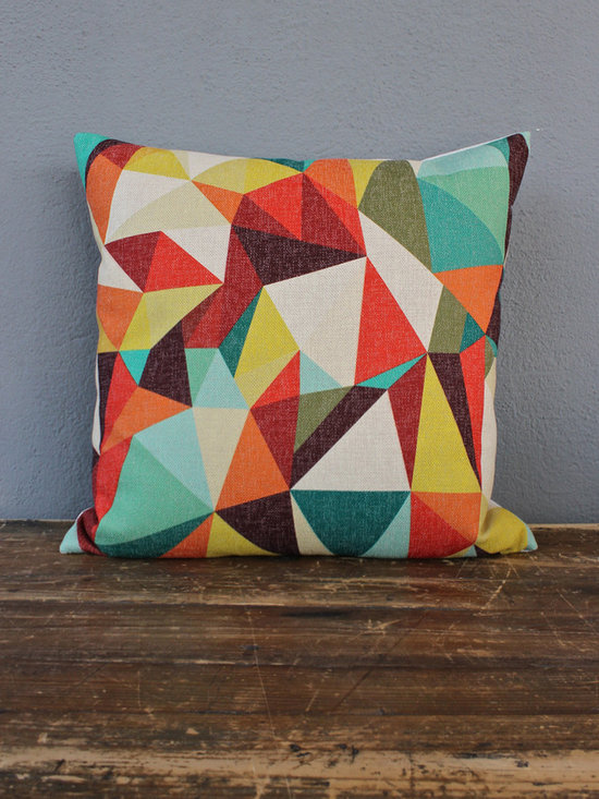 orange kite pillow - please e-mail us at info@redinfred.com for more information + purchasing availability