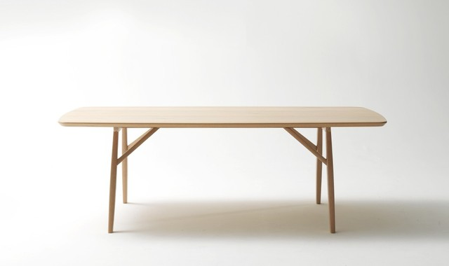 Quincy Dining table Contemporary Dining Tables by Jardan