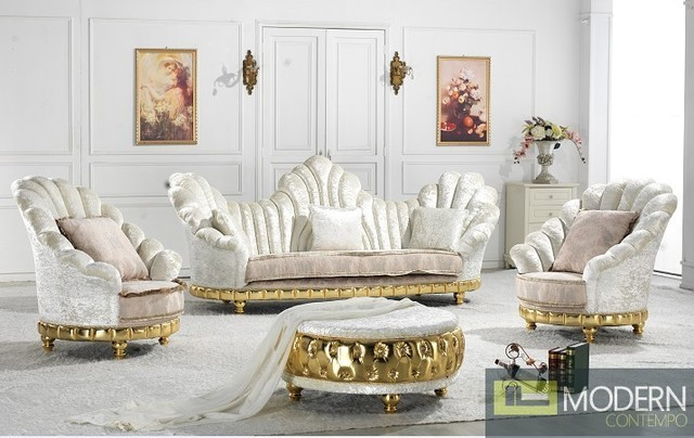 Enclave - Exclusive European Luxury Sofa Set traditional-living-room ...