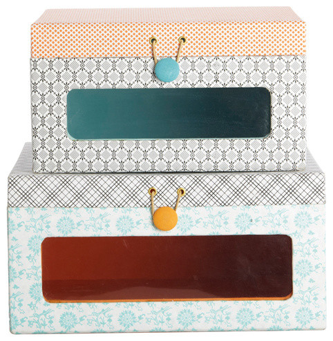 Window Storage Boxes Ella contemporary storage boxes