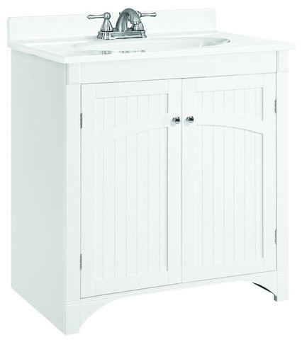 design house 541565 white cottage 30 quot wood vanity cabinet cottage bathroom vanities white bathroom vanity 48 inch