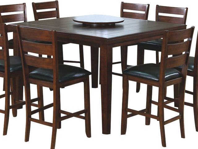 Monarch Specialties 54x54 Pub Dining Table With