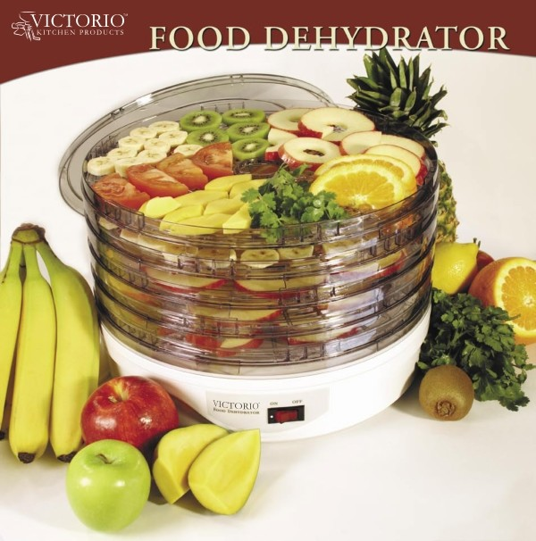 Victorio Electric Food Dehydrator modern kitchen tools