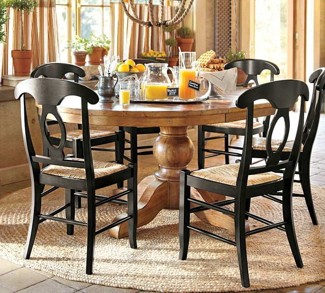 sumner extending pedestal dining table traditional