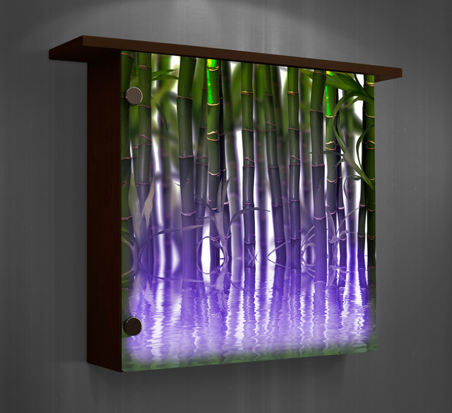 lighted wall decor color changing lights modern home decor