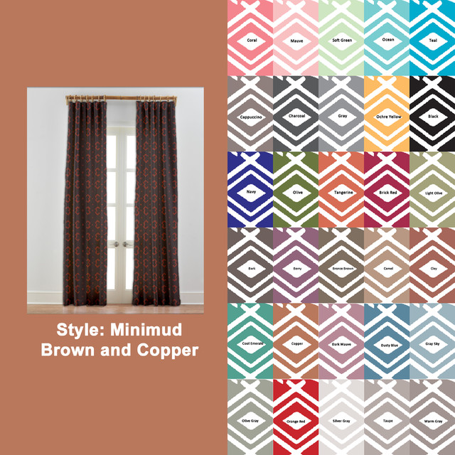 Modern African Curtains Drapes