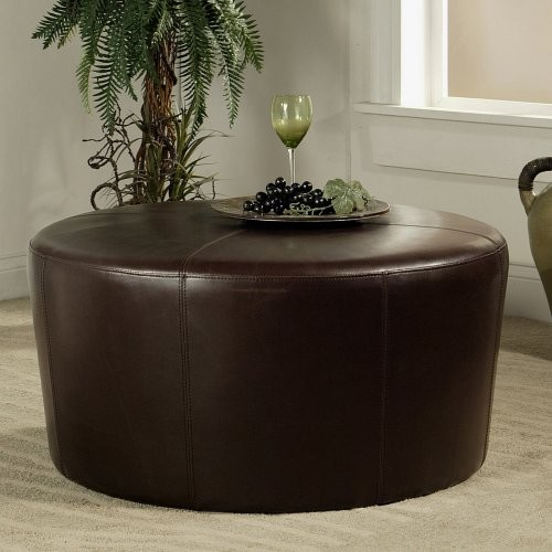 Brooklyn Round Ottoman contemporary-footstools-and-ottomans