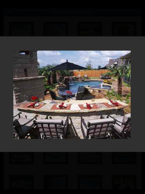 Peaceful and Pretty Pools traditional-patio
